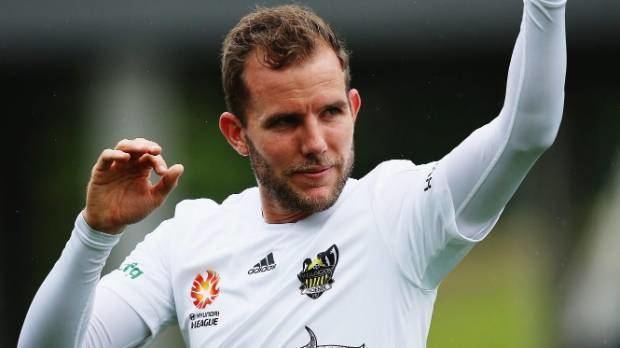 Jeremy Brockie Jeremy Brockie keen to sign off from Wellington Phoenix in
