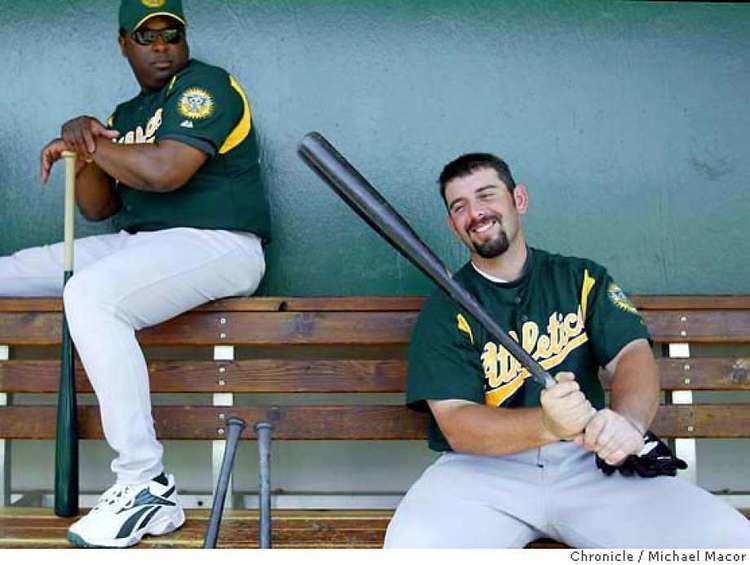 Jeremy Brown Moneyball catcher takes heat in stride SFGate