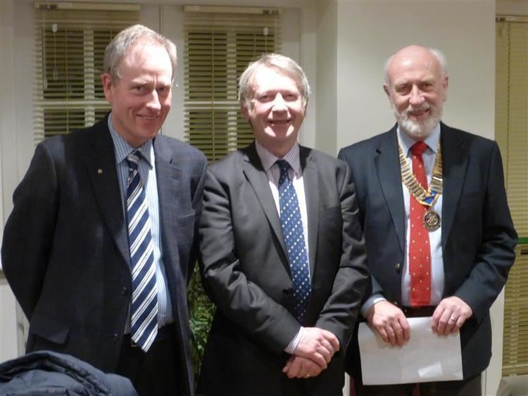 Jeremy Burchill Jeremy Burchill inducted as member Rotary Club of Wensleydale