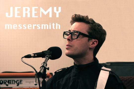 Jeremy Messersmith PRX Piece Jeremy Messersmith