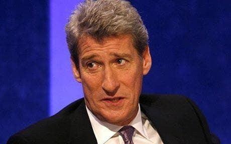 Jeremy Paxman General Election 2010 BBC apologises after Jeremy Paxman