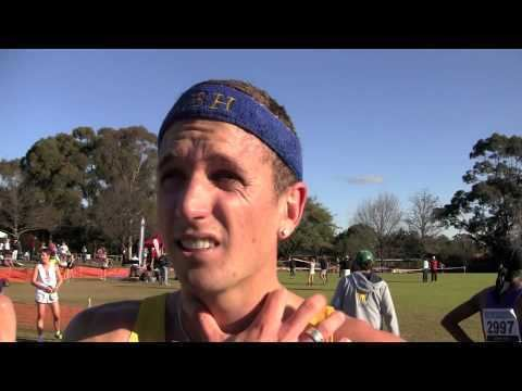 Jeremy Roff Jeremy Roff Interview NSW Short Course Cross Country