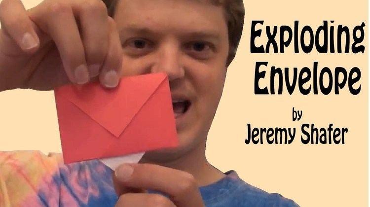 Jeremy Shafer Origami Exploding Envelope by Jeremy Shafer YouTube