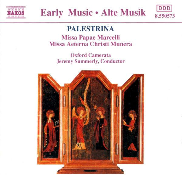 Jeremy Summerly Palestrina Oxford Camerata Jeremy Summerly Missa Papea
