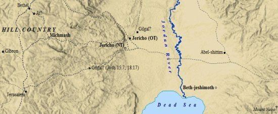 Jericho in the past, History of Jericho