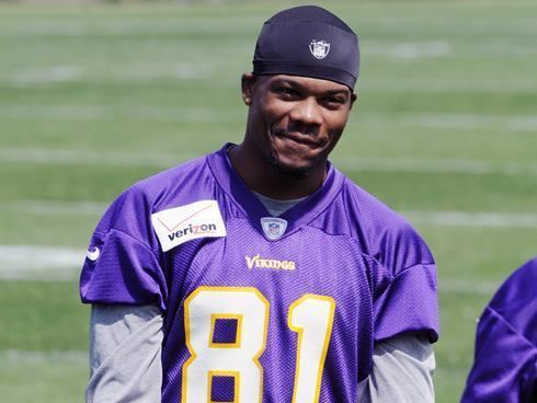 Jerome Simpson Vikings receiver Jerome Simpson officially suspended