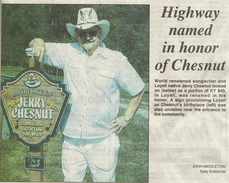 Jerry Chesnut news