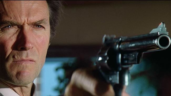Jerry-Go-Round movie scenes Clint Eastwood s detective Harry Callahan saves the day as would be bandits terrorise customers at his favourite diner He tells one offender to go ahead