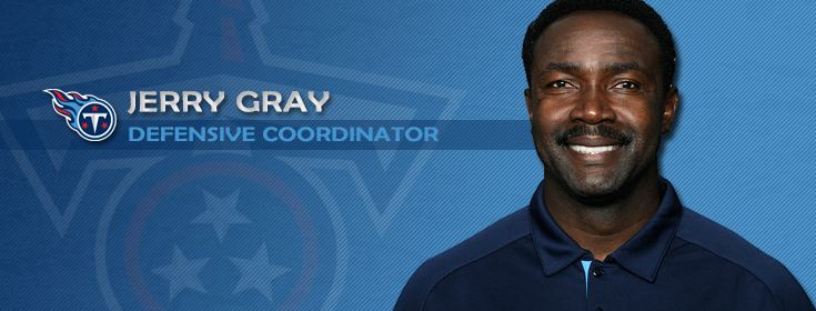 Jerry Gray Tennessee Titans Jerry Gray