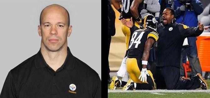 Jerry Olsavsky Pittsburgh Steelers promote Joey Porter Jerry Olsavsky