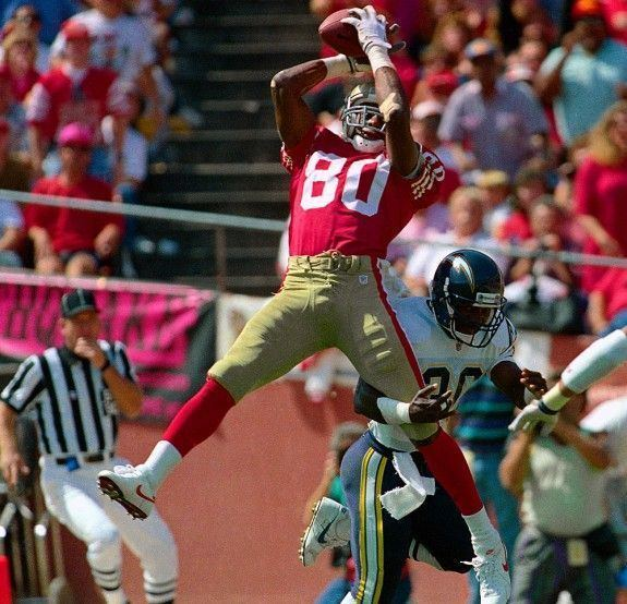 Jerry Rice Jerry Rice One of the greatest wide receivers of all time