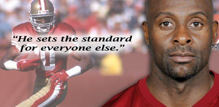 Jerry Rice Notes Quotes Jerry Rice Pro Football Hall of Fame Official Site