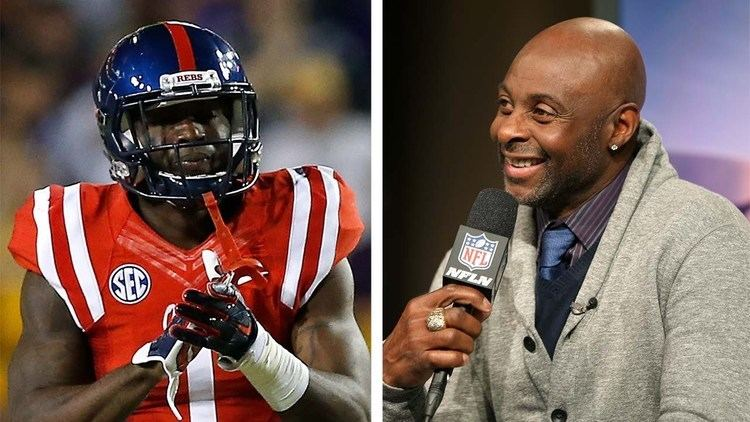 Jerry Rice Jerry Rice Analyzes Laquon Treadwell Ole Miss WR 2016 NFL Draft