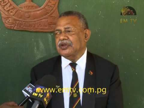 Jerry Singirok Former PNGDF Commander Calls on Govt to Give Soldiers Due
