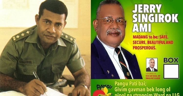 Jerry Singirok I SERVED MY COUNTRY I NOW WANT TO SERVE MY PEOPLE OF MADANG PNGBLOGS