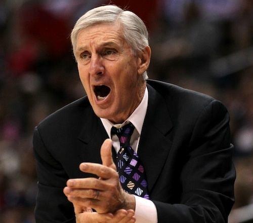 Jerry Sloan Jerry Sloan Utah Jazz head coach surprises sports world