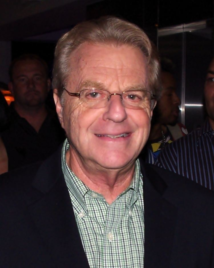 Jerry Springer Jerry Springer Wikipedia the free encyclopedia