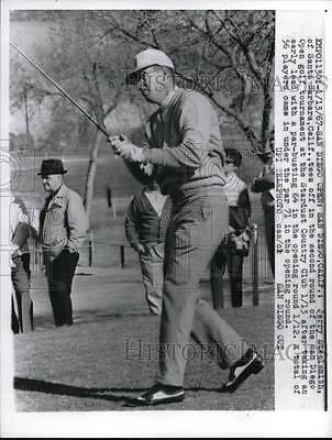 Jerry Steelsmith 1967 Press Photo San Diego Open Golf Jerry Steelsmith Tees Off