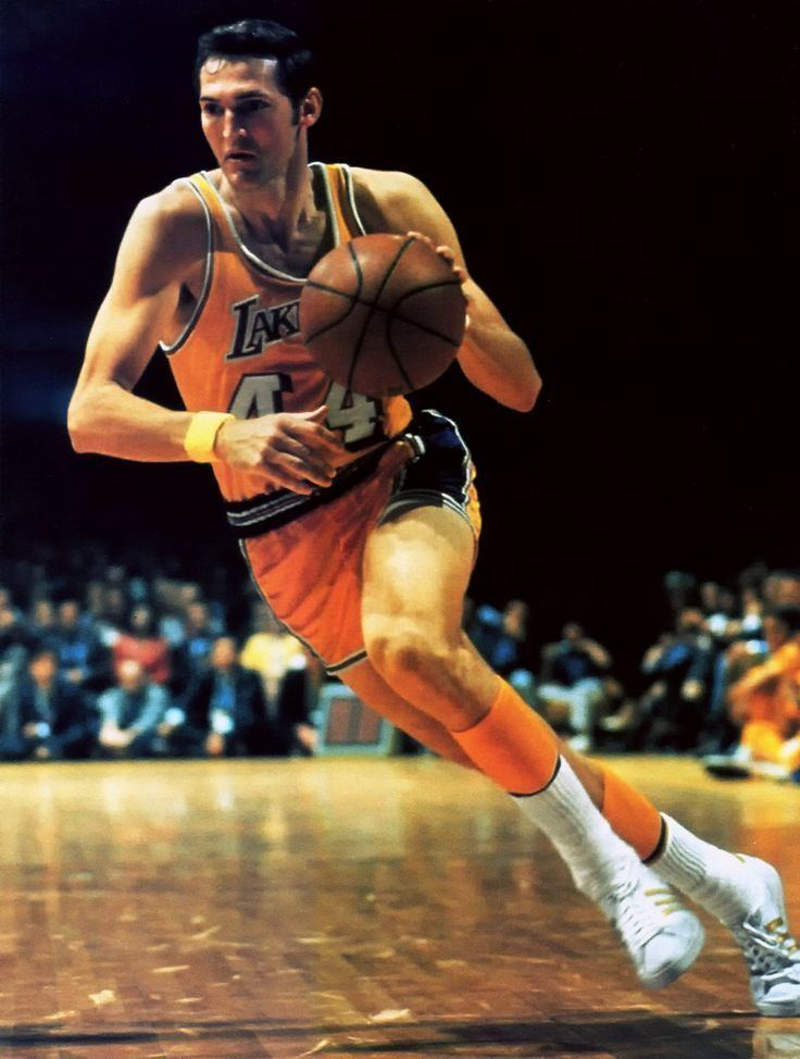 Jerry West JERRY WEST 44 on Pinterest NBA Los Angeles Lakers and Logo