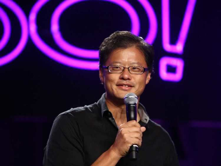 Jerry Yang JERRY YANG LAUGHS LAST Five Years Later Yahoo39s Share Price