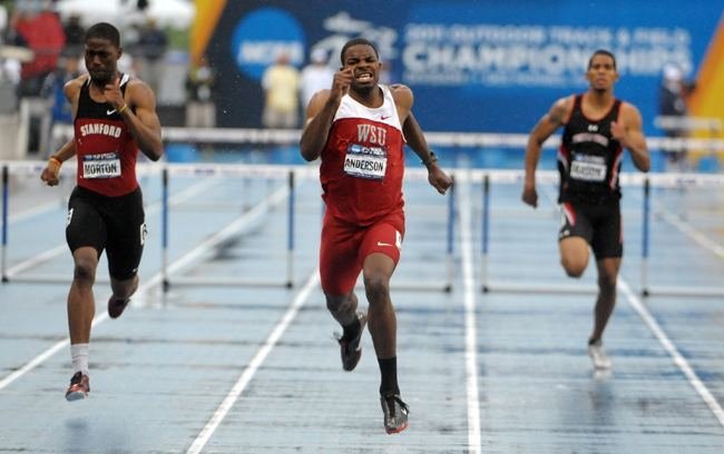 Jeshua Anderson Jeshua Anderson named Pac10 male track athlete of the