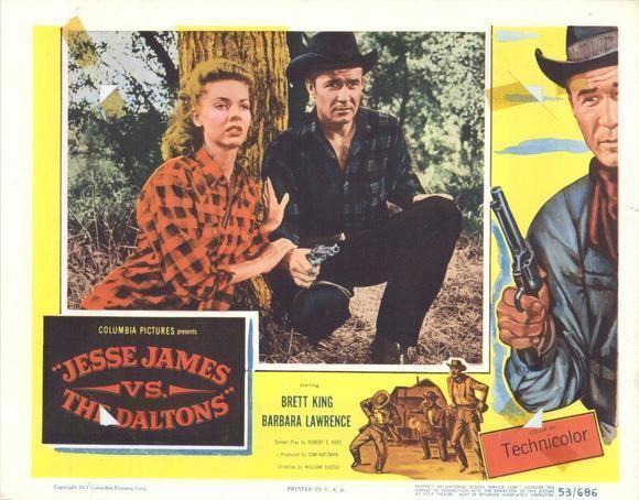 Jesse James vs. the Daltons movie scenes JESSE JAMES VS THE DALTONS 1954 DVD