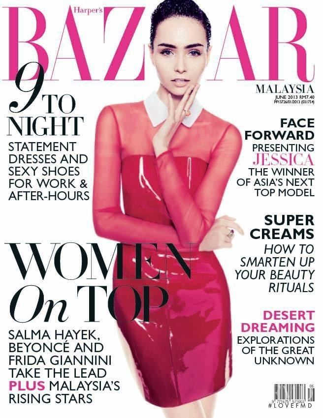 Jessica Amornkuldilok Covers of Harper39s Bazaar Malaysia with Jessica
