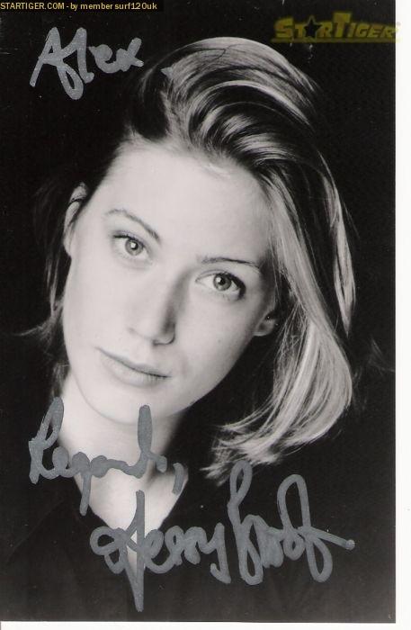 Jessica Brooks Jessica Brooks autograph collection entry at StarTiger