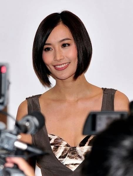 Jessica Hsuan Maggie Cheung and Jessica Hsuan39s new hair cut OneAsiaa