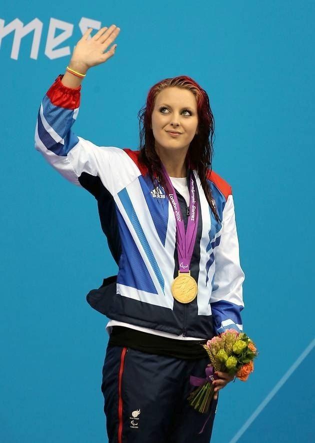 Jessica-Jane Applegate Paralympics Gold for Norfolk swimmer JessicaJane