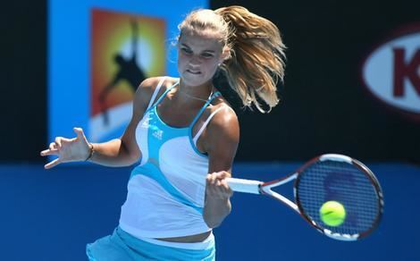 Jessica Moore (tennis) Moore loses but more could be in store