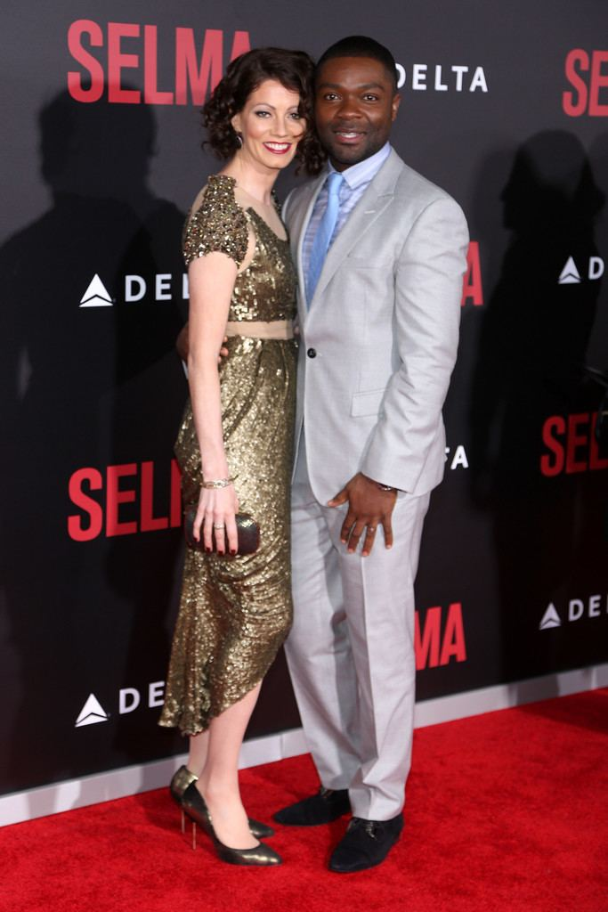 Jessica Oyelowo Selma Premiere Jessica Oyelowo and David Oyelowo