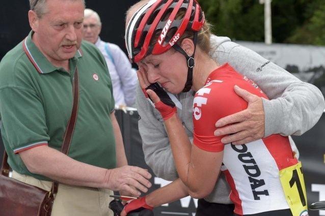 Jessie Daams Belgische renster Jessie Daams buiten strijd met trombose in