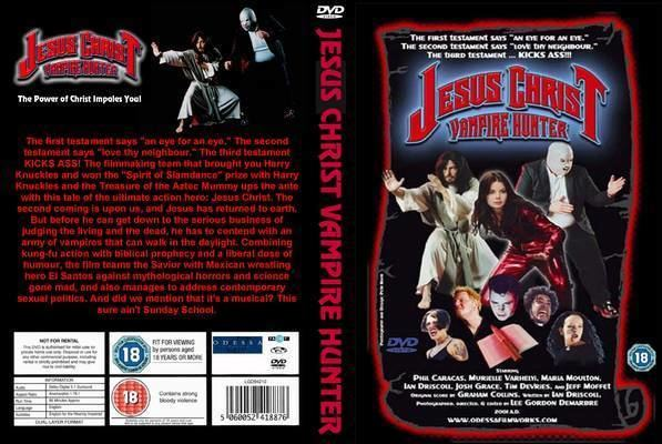 Jesus Christ Vampire Hunter Jesus Christ Vampire Hunter 2001 DVD Front Cover id49039 Covers