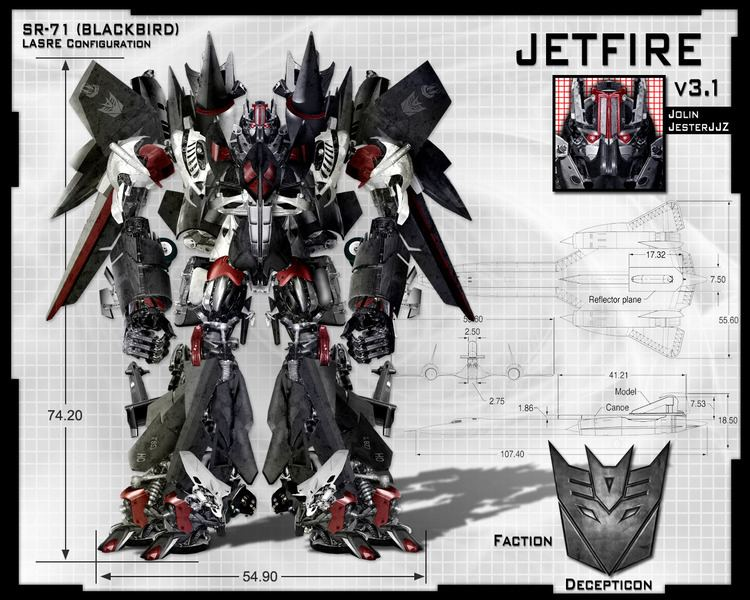 Jetfire Is this a good alternate for Jetfire Archive The Official