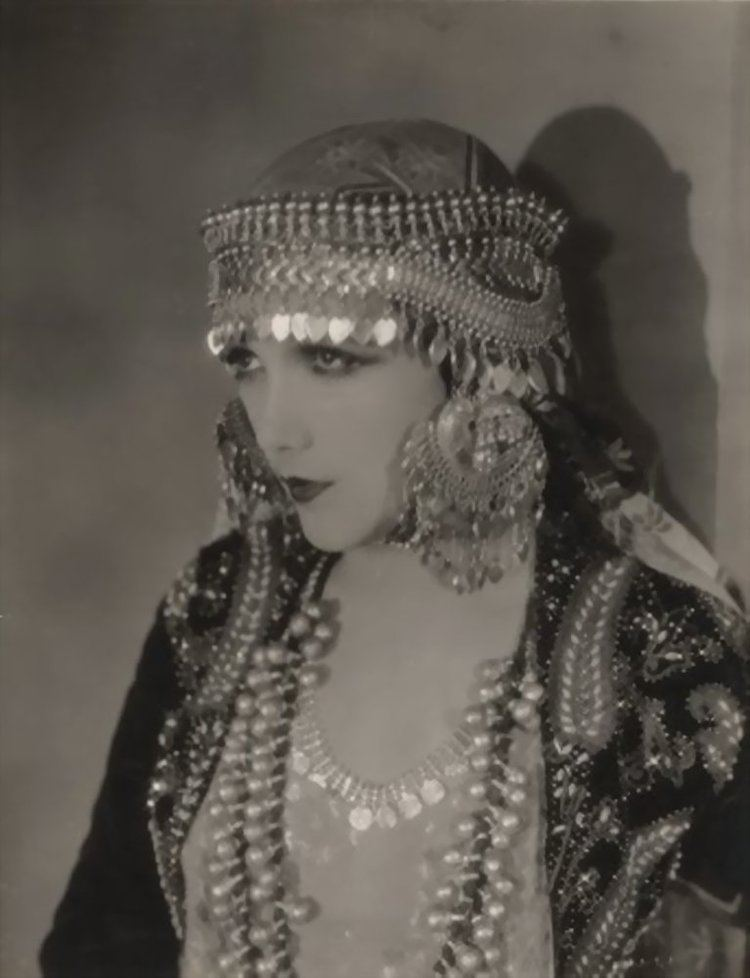 Jetta Goudal Actress Jetta Goudal in an unidentified movie from the 1920s Only