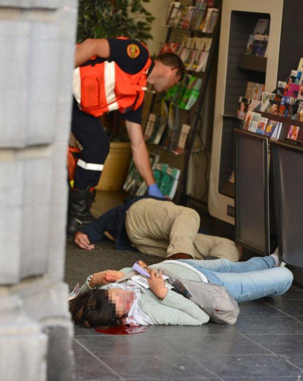 Jewish Museum of Belgium shooting Update 2 Shooting at Jewish Museum Brussels Belgium