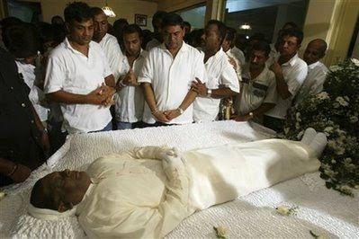 Jeyaraj Fernandopulle Mawbima Lanka Sri Lanka39s slain minister of Highways and