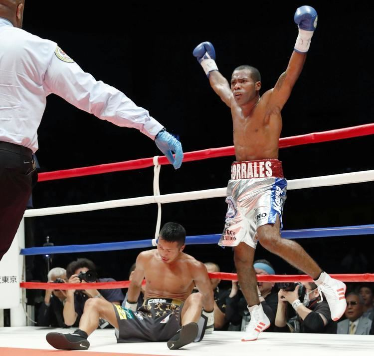 Jezreel Corrales Corrales stuns reigning champion Uchiyama in second round The