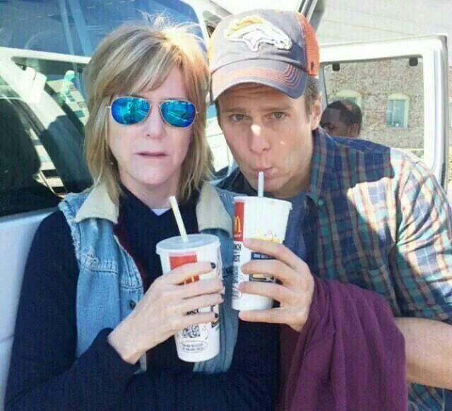 Jhoni Marchinko Patrick bts s2e07 with Looking writer Jhoni Marchinko Looking HBO