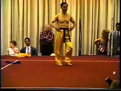 Jhoon Goo Rhee Special Demo by Grandmaster Jhoon Rhee at 1996 Jhoon Rhee