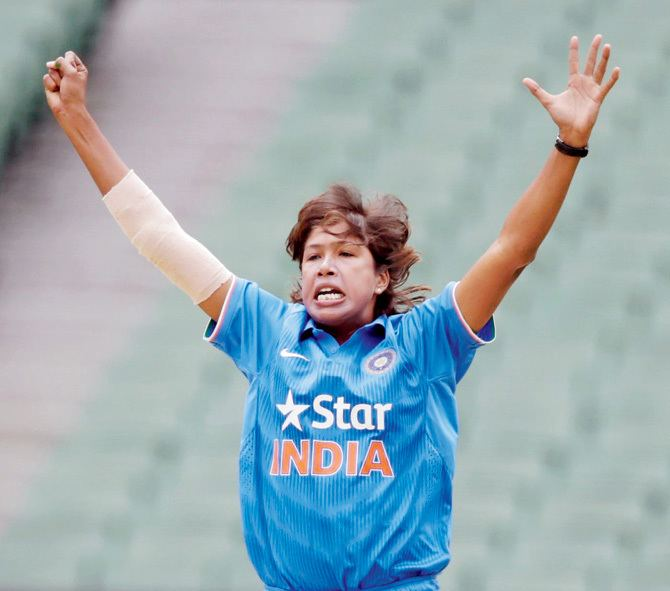 Jhulan Goswami My record is for India Female fast bowler Jhulan Goswami Sports