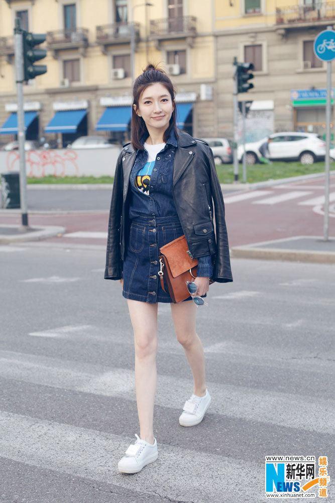 Jiang Shuying Street shots of Jiang Shuying China Entertainment News