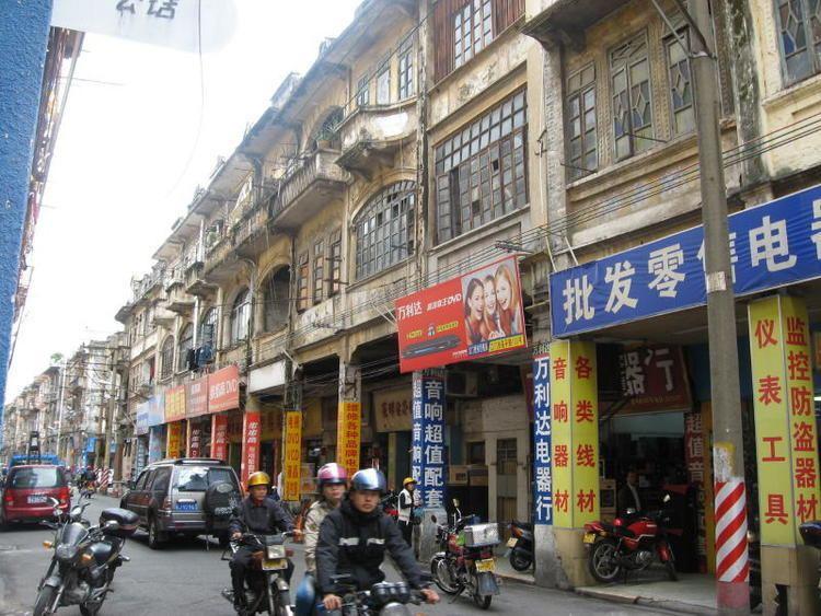 Jiangmen in the past, History of Jiangmen