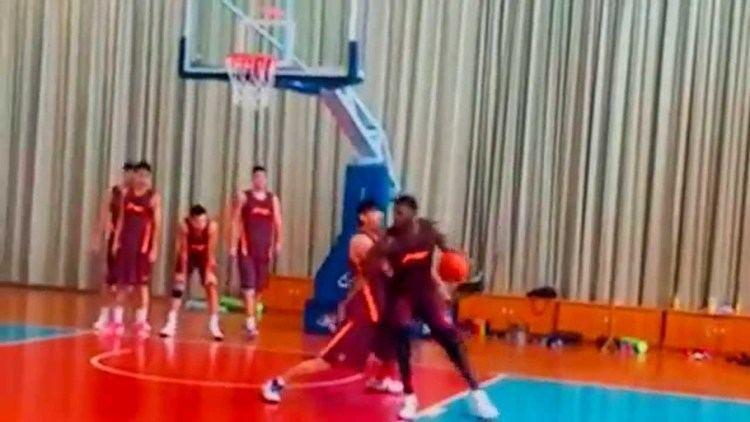 Jiangsu Dragons Greg Oden Practice 2015 China Jiangsu Dragons CBA Video YouTube