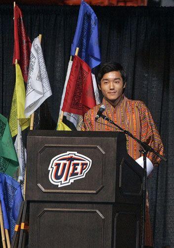 Jigyel Ugyen Wangchuck Remarks by Prince Jigyel Ugyen Wangchuck