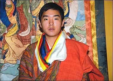 Jigyel Ugyen Wangchuck His Majesty the King granted the Royal Scarf to Dasho