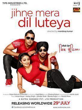 Jihne Mera Dil Luteya movie poster