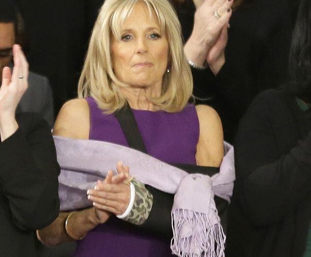 Jill Biden White House Jill Biden broke arm POLITICO