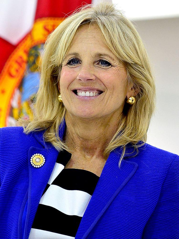Jill Biden Jill Biden Cheers PEOPLE39s All Star Teachers Peoplecom